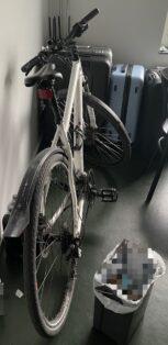Cykelstöld White Stockholm Stulen